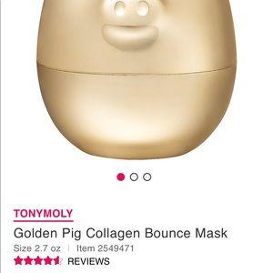 TONYMOLY Makeup - Golden Pig Collagen Bounce Mask